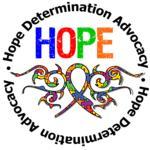 Autism Hope Tribal Ribbon