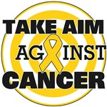 Take Aim Against Childhood Cancer Shirts & Gifts