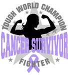General Cancer Tough Survivor Shirts