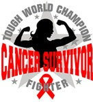 Blood Cancer Tough Survivor Shirts