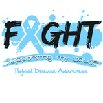 Fight Thyroid Disease Cause Shirts