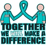 Ovarian Cancer We Will Make A Difference Shirts