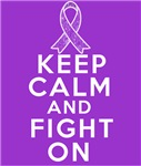 Pancreatic Cancer Keep Calm Fight On Shirts