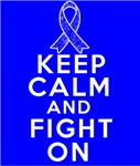 Rectal Cancer Keep Calm Fight On Shirts
