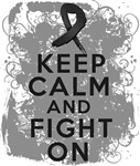 Skin Cancer Keep Calm and Fight On Shirts