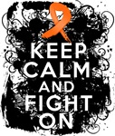 Leukemia Keep Calm and Fight On Shirts