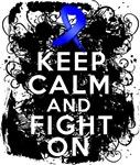 Colon Cancer Keep Calm Fight On Shirts