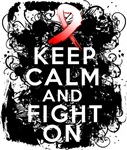 Aplastic Anemia Keep Calm Fight On Shirts