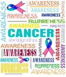 Thyroid Cancer Awareness Collage Shirts