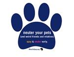 Neuter Your Pets Paw
