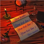 Personalizable Handwritten Letter