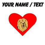 Custom Chow Chow Heart