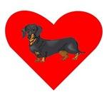 Dachshund Heart