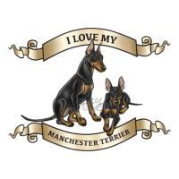 Toy and Standard Manchester Terriers
