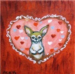 Chihuahua Valentine Be Mind