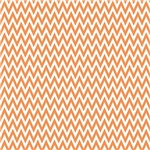 Peach Chevron