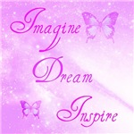 Imagine, Dream, Inspire Butterflies