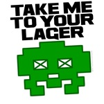 Take me to your Lager drinking shirts