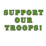Support Troops Dog Tags