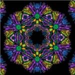 kaleido art fractal-more colors