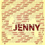 Made of words name JENNY