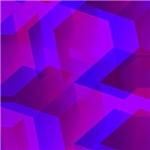 Geometric 04 purple