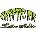 Cryptin Ink Tattoo Studio green logo
