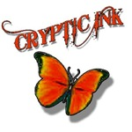Cryptic Ink Orange Butterfly