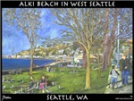 Alki Beach, West Seattle