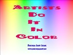 Artists Do It In Color
