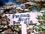 PreciousStuffDotBiz Sign