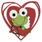 Frog Cupid Valentine