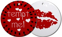Valentine's Day Ceramic Ornaments