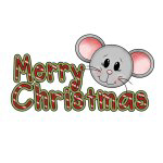 Mouse Merry Christmas T-shirts and Gifts