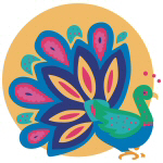 Pretty Peacock T-shirts and Gifts
