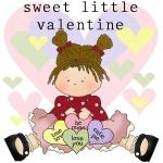 Sweet Little Valentine Tshirts and Gifts