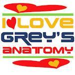 I Love Grey's Anatomy Tshirts and Gifts