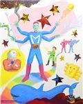 Kids Share Newtown Superheroes