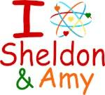 I Love Sheldon & Amy