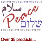 Peace (Arabic, English, Hebrew)