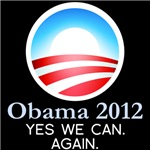 Obama 2012 Yes We Can Again