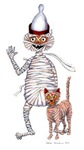 Mr Mummific and Cat