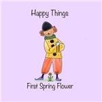 Happy Things - First Spring Flower