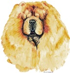 Red Chow Chow Portrait Great Gift Product Items