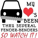HEART FENDER BENDERS