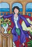 Purple Robe Lady