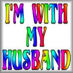 I'm with my husband