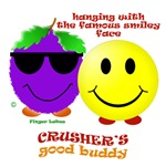 Crusher & Smiley face