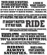 Cyclists' Creed