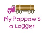 Pappaw's a Logger - Pink